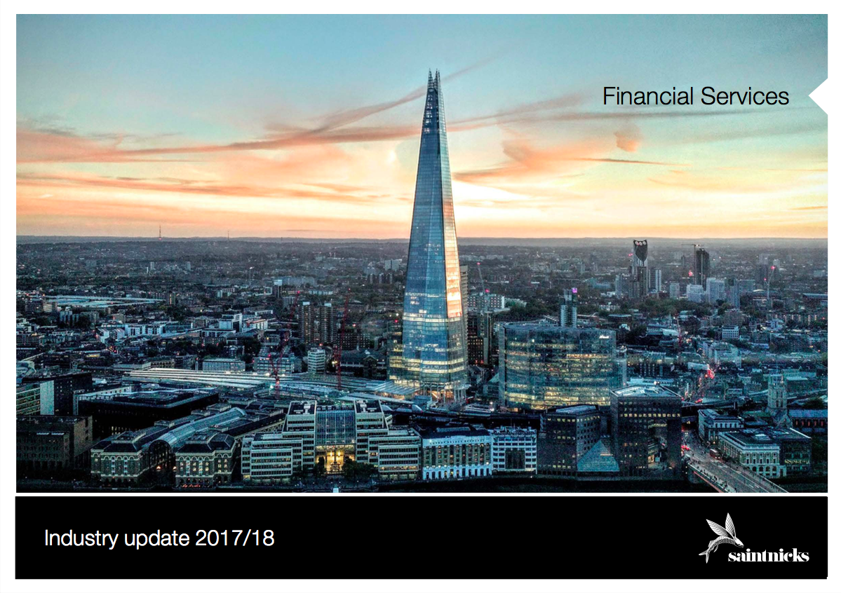 financial services trends London
