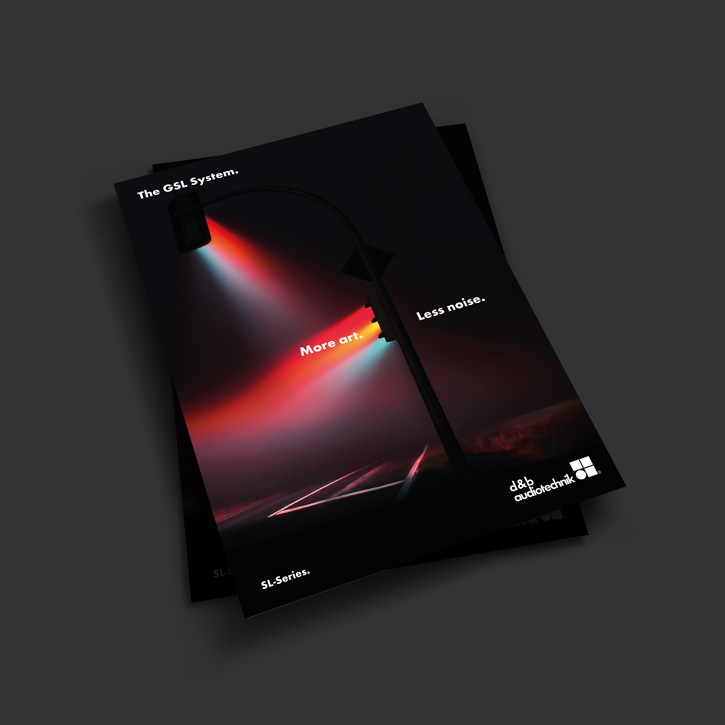 d&b audiotechnik SL Series brochure cover